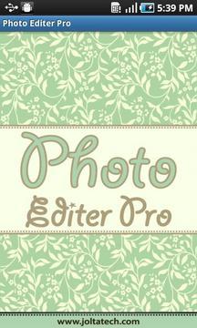 Photo Editer Demo