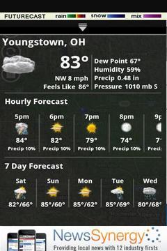 我的山谷天气预报新版