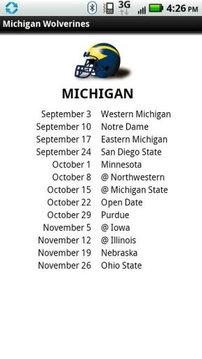 2011 BIG TEN FB Schedules