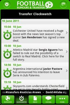Football Rumours & Transfers