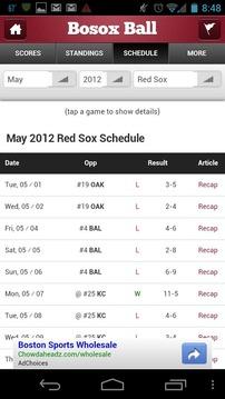 棒球统计表