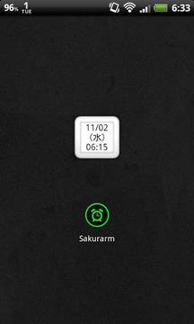 Sakurarm 祝日対応アラーム