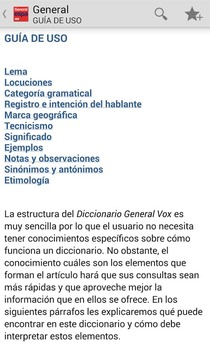 VOX一般西班牙语语言TR