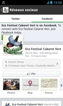 Eco-Festival Cabaret Vert 2013