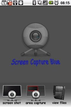 Screen Capture Blue DEMO