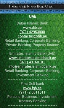 Interest Free Banks