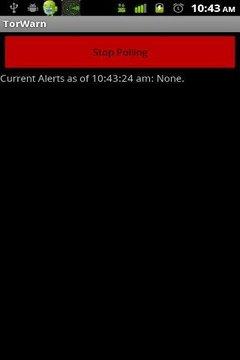 TorWarn Weather Alerts