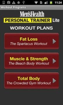 Men's Health Trainer Lite