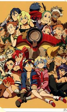 Wallpaper Gurren Lagann Anime
