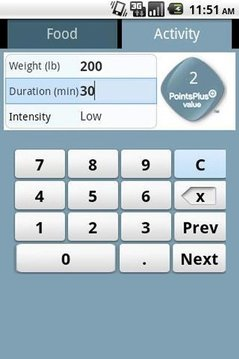 PointsPlus Calculator