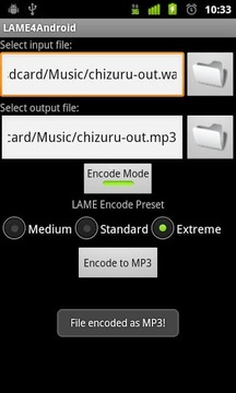 Lame4Android汉化