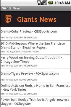 Giants News