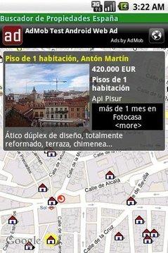 Buscador de Propiedades España
