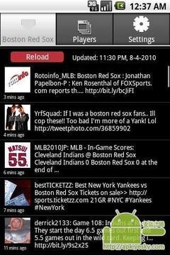 波士顿红袜子队Tweets