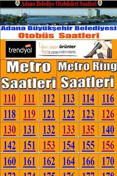 Adana Belediye Otobüs Saatleri