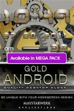 Android的黄金天气widget