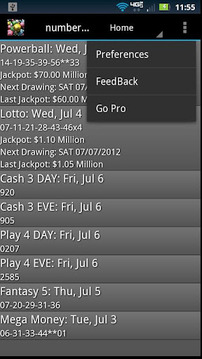 Lottery Droid Lite