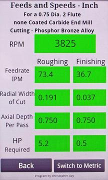 Feeds and Speeds for Milling