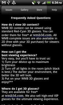 WMB 3D for Phones
