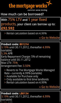 Buy to Let Affordability Calc