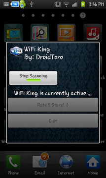 WiFi Up! Network Identifier