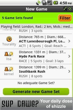 Tourality Free GPS Challenges