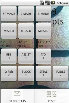Instant Stat Basketball Lite