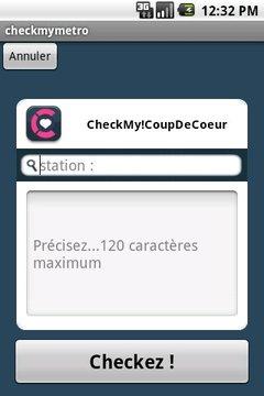 CheckMyMetro Paris Metro