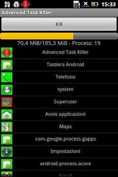 Advanced Task Killer (Live)