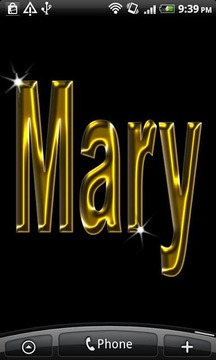 Mary Gold Name