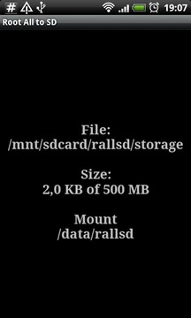 Root # All Data2SD card.