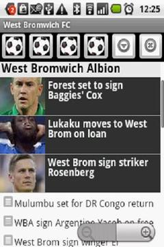 West Bromwich Albion FC News