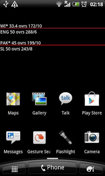 Live Wallpaper Cricket Score