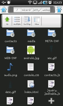 Content Center - File Explorer