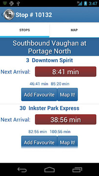 That Winnipeg Transit App