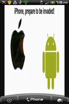 Android Invades Apple LWP