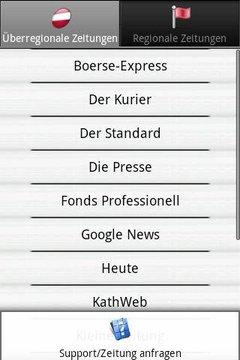 Zeitungen AT frei (Österreich)