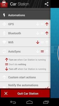 Car Station - Car Dock Mode