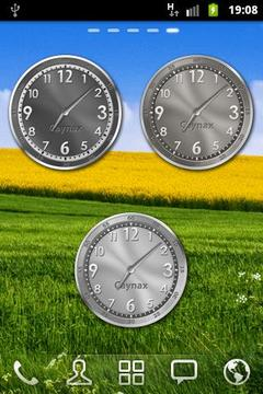 Analog Clock Widget Eureca