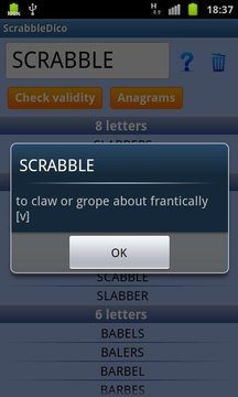 Scrabble Dico & Anagrammes