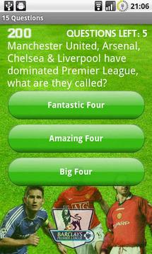 Premier League Quiz Lite