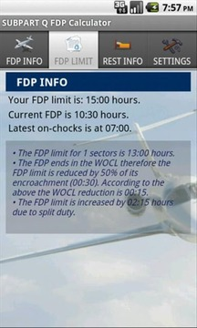 SUBPART Q FDP Calculator
