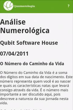 Q Numerologia Free