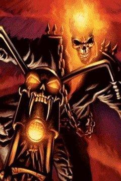 Motorbike Fire n Ghost Rider