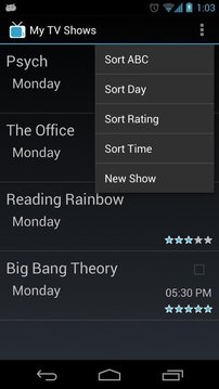 My TV Shows
