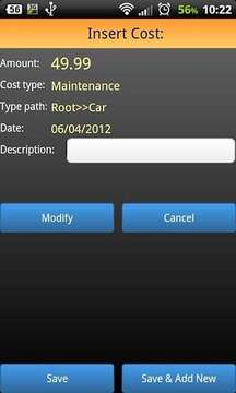 Cost Manager beta