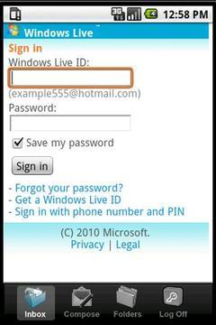 Windows Live邮箱