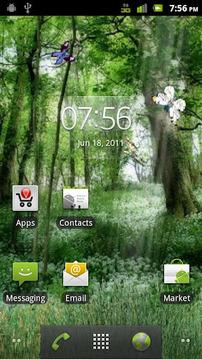 Butterfly Forest HD LWP LITE