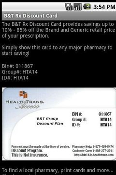 Discount Prescription Rx Card