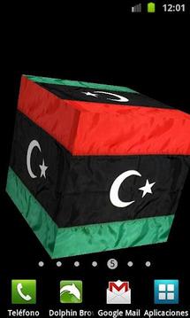 3D Libya Live Wallpaper